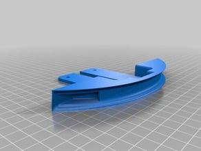 Ledstrip holder for longboard