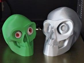 Halloween Skull (single&multi-material remix)