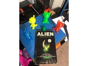 Alien Head Bookmark