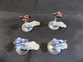Smoke Markers for Flight Stands