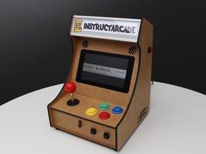 Mini Pi-Powered Arcade Machine