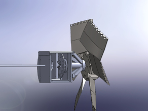 Windturbine with alternetor