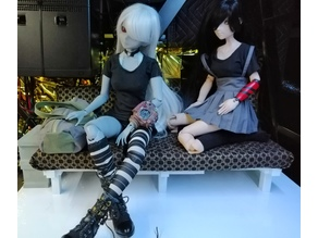 1/3 Scale Sofa for BJD Dolls