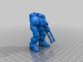 Space Man (robot) Remix