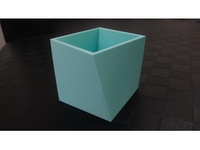 Rotating square box