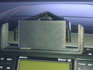 Mount for HTC One X in a Hyundai i30 - v2