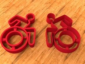 3D Cookie Cutter Form Wheelchair-Design