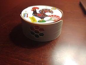 Coasters holder