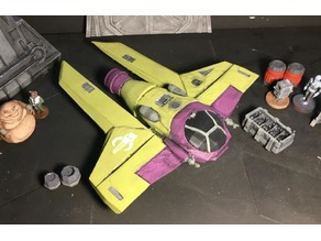 M3-A Scyk Interceptor (Star Wars Legion scale)