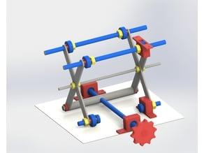 K40 adjustable laser table