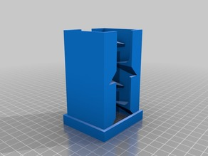 Height Extensions for Compact Tabletop Battery Holder