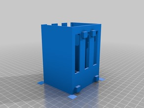 My Customized Raspberry Pi 2/3 Rack (3x)