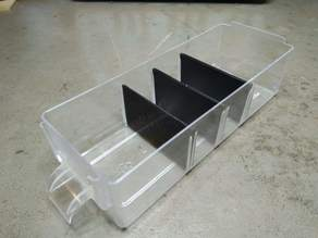 Dividers for MARS storage boxes