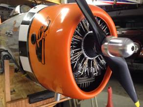 Faux Radial Engine For RC Planes Models