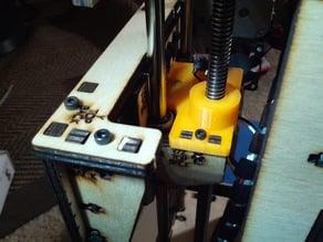 Use 3/8th Rod and Acme Nut on PB Simple 1405
