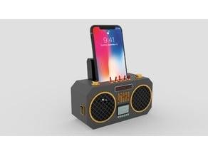 Phone Speaker Boombox