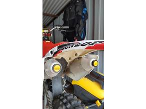 Dirt bike exhaust plug 4T Twin Air dirtbike