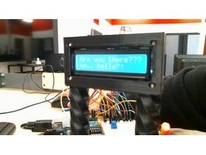 Sensor LCD screen