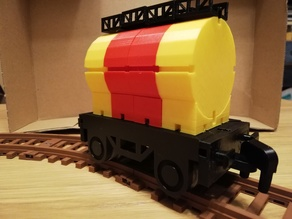 Tank car for TKTrain - A kBricks based train system