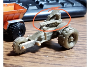 Gaslands custom Twin-Linked M2 Browning