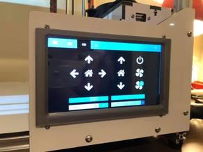 """Folgertech FT-6 7"""" LCD screen bezel"""