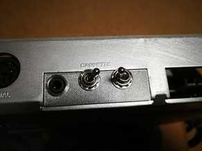 C64 SIDFX Cassette-Port Cover