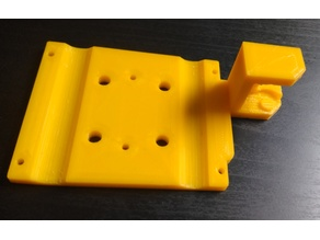 I3 X Axis cable chain mount