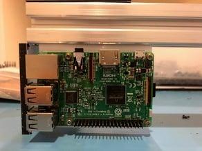 Raspberry Pi3 2020/3030 Extrusion Mount