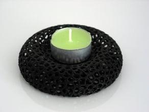 Tealight holder - Voronoi-Style #10