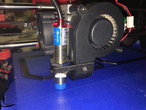 Inductive sensor mount BQ Prusa i3