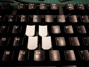 Steno Key Tops for Cherry Switches