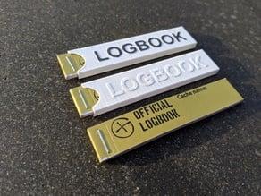 Logbook Sleeve - Geocaching