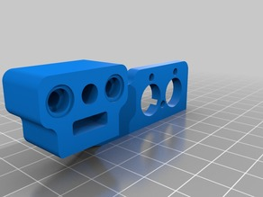 BLToch Mount for Dual Extruder