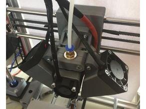Best E3D v5 mount, fan and fan duct