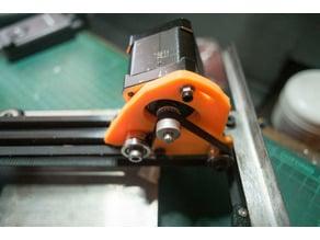 Mendel Max 3 printed Y motor mount