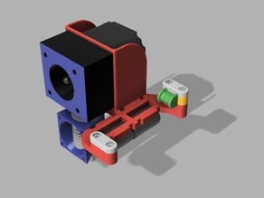 E3D Titan Extruder Upgrade for Prusa i2