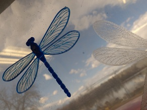 Translucent Dragonfly Necklace