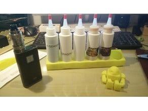 E-Liquid Bottle Holder 6x1 (E-Cigarette)