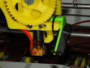 Fan for Greg's Wade extruder - Ventilador - Soporte para el extrusor de Greg.