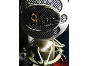 Blue mic to conventional shock mount adapter