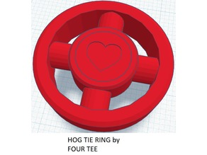 Hog Tie ring BDSM