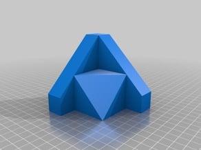 Figuras 3D para trabajar la obtención de vistas ortogonales XIV