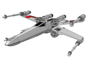 SW - T-65 X-Wing Starfighter