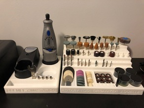 Rotary Tool Station and Organizer for Dremel 7300