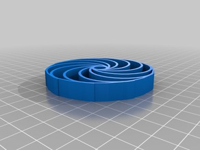 My Customized Parametric airless tire by tjhowse