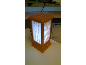 Lithophane Lamp V2