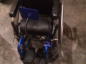 Wheelchair iPad Mount