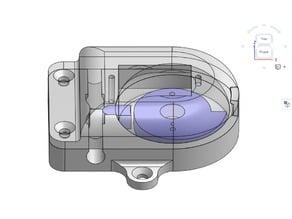 Micro Servo Valve for silicon tube 6mm OD