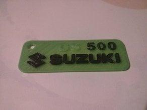 Suzuki GS 500 keychain
