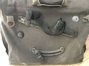 Ortlieb QL2.1 blank and nut (spare part for cycling bag/pannier)